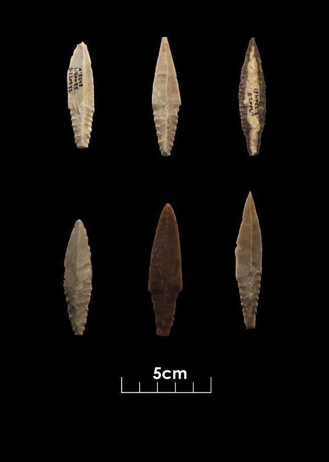 Motza Flint Tools - Israel Antiquities Authority