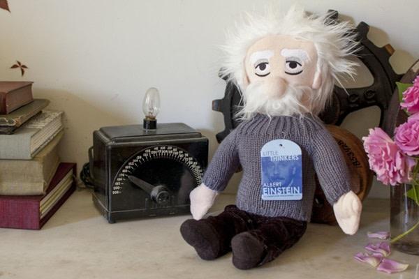 Einstein Little Thinker Plush