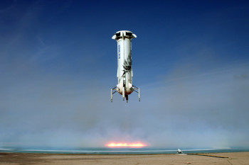 Watch a Blue Origin Rocket Stick its Sixth Consecutive Landing