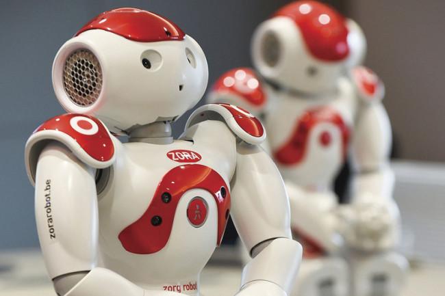 Zora health care robot - Getty