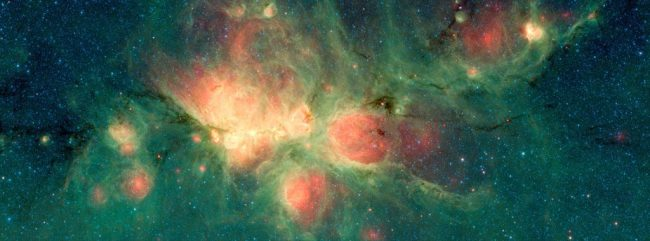 Cat's Paw Nebula via Spitzer - NASA