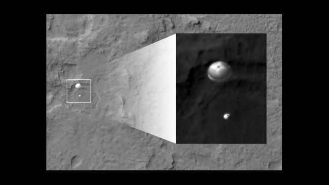 mars curiosity rover landing