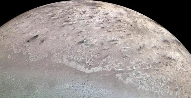 Triton, Dark Streaks - NASA