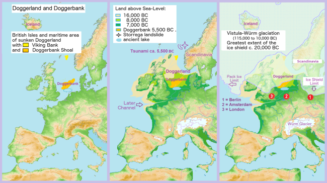 Doggerland and Storegga Slides - Wikimedia