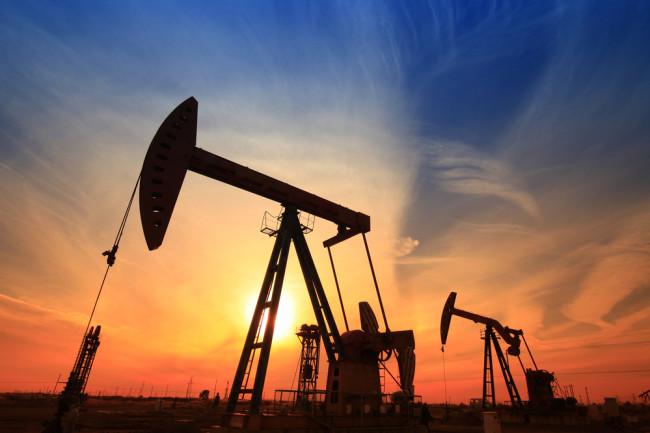 oil rig sunset - shutterstock