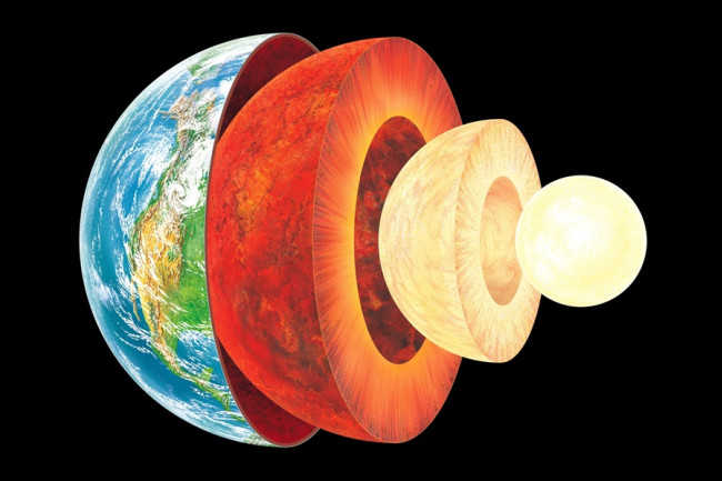 Earth Layers - Science Photo Library