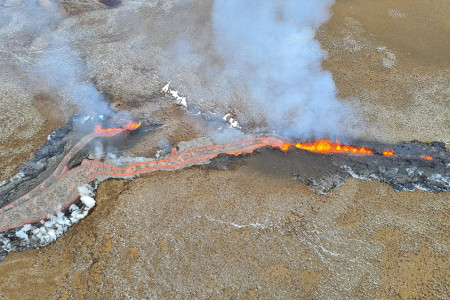 Iceland's New Eruption Picks Up the Pace