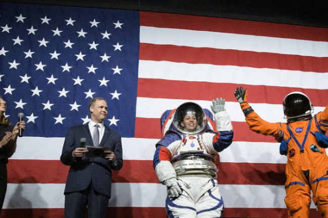 Nasa Reveals New Spacesuits Designed To Fit Men And Women Discover Magazine Men's health is the brand men live by for fitness, nutrition, health, sex, style, grooming, tech, weight loss, and more. nasa reveals new spacesuits designed to