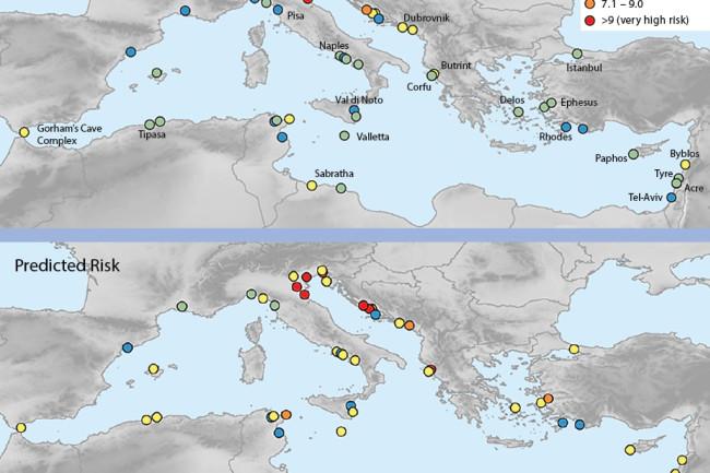 UNESCO Sites Flood Risk under climate change - Nature Communications