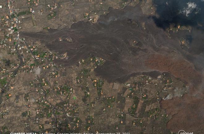 La Palma Lava Flows