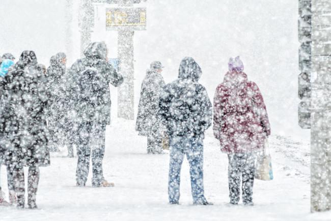 freezing conditions