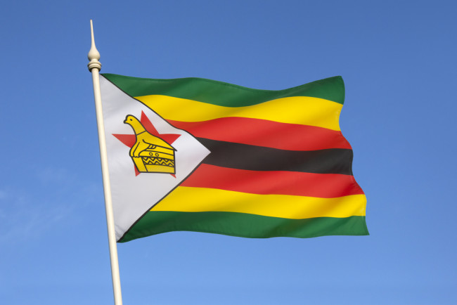 Zimbabwe flag - Shutterstock