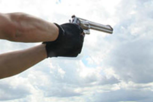 pistol gun shooting