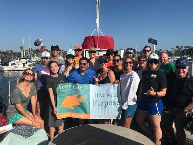 Reef Check California Volunteers - Selena McMillan
