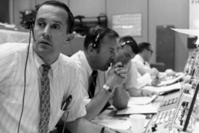 Mission Control during Apollo 11 - NASA