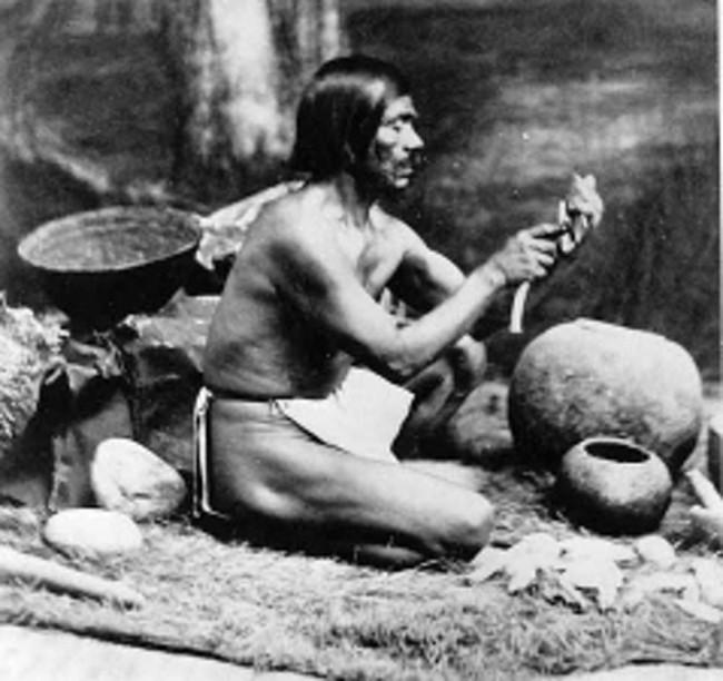 Rafael, Chumash, Native American - Leon de Cessac