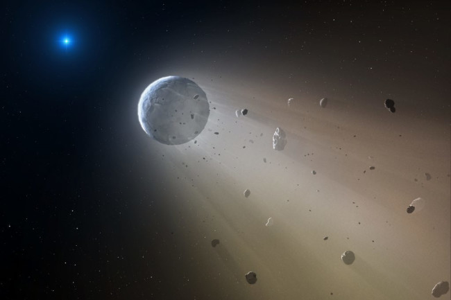 Disintegrating Asteroid - Center for Astrophysics