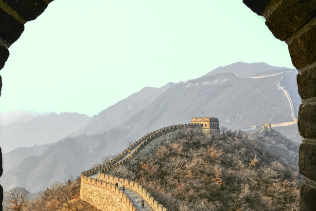 great wall picture - unsplash