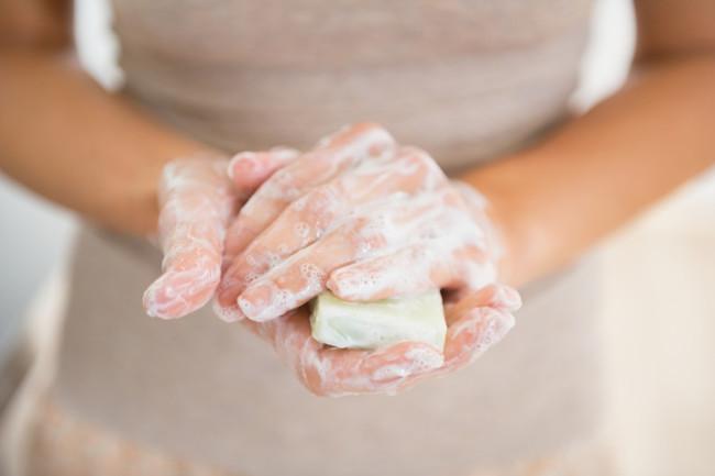 Handwashing Bar Soap - Shutterstock