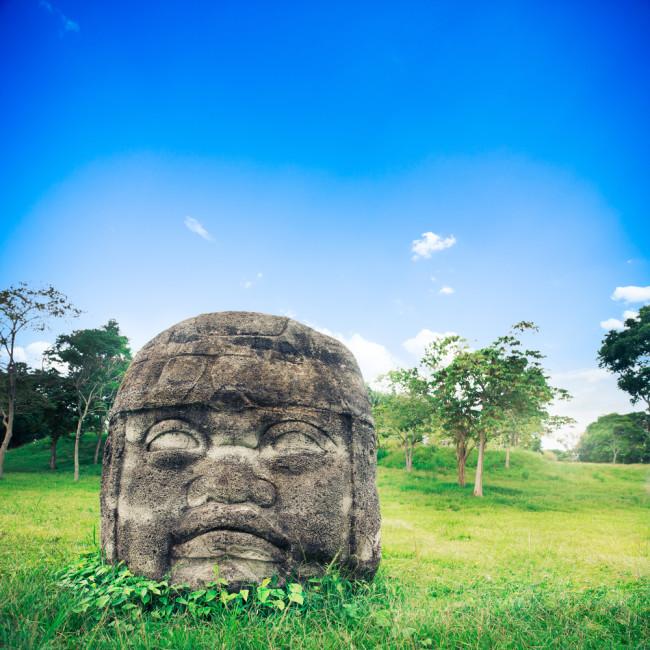 Olmec Colossal Heads - Shutterstock