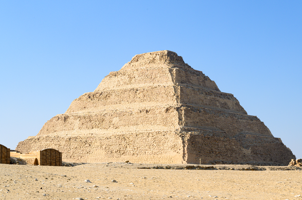 Names of pyramids in egypt
