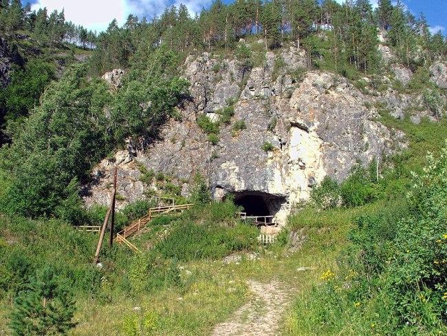 Denisova Cave - Wikimedia Commons
