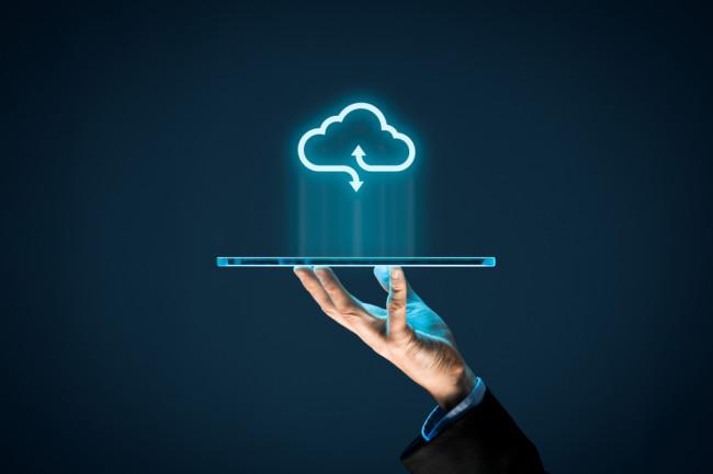The Cloud Concept Art - Shutterstock