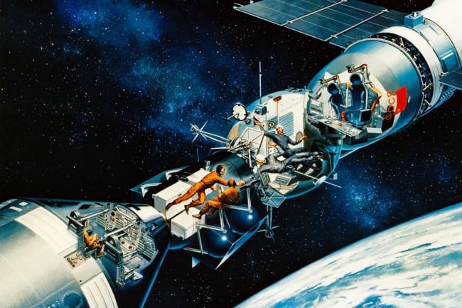 apollo soyuz mission - NASA