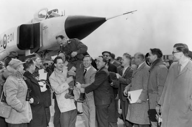 Arrow Pilot Janusz Zurakowski 1958 - Library and Archives