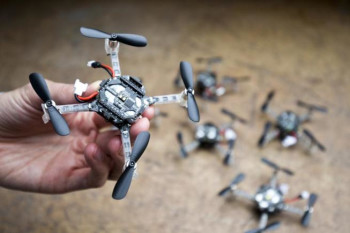 This Swarm of Search and Rescue Drones Can Explore Without Human Help