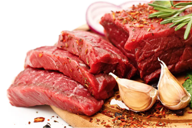 The new study still finds that reducing unprocessed red meat consumption by three servings in a week is associated with an an approximately eight per cent lower lifetime risk of heart disease, cancer and early death. (Credit: Shutterstock)