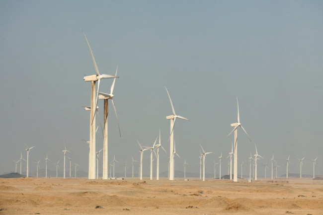 wind energy turbines generate power in africa could increase rainfall