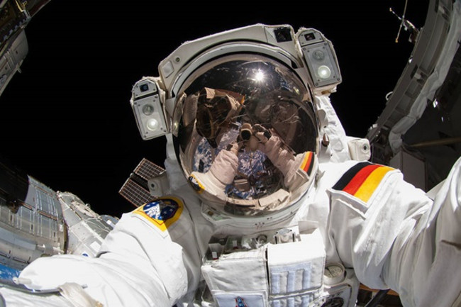 Astronaut Alexander Gerst on ISS - NASA
