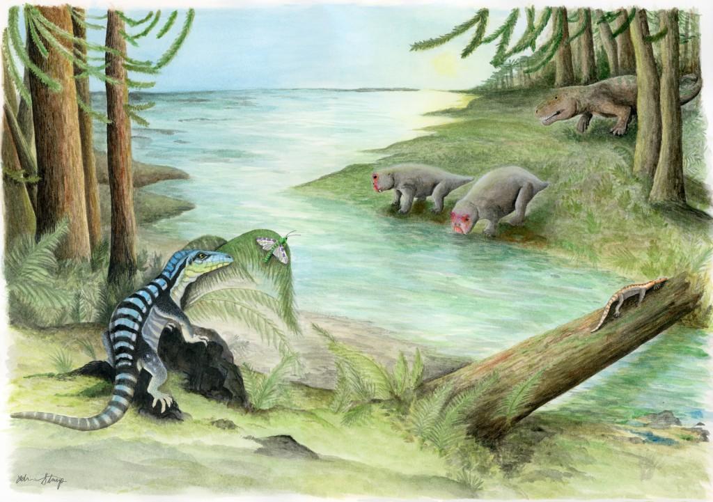 Dinosaur Relative Antarctanax Lived In Antarctica After Biggest Mass Extinction