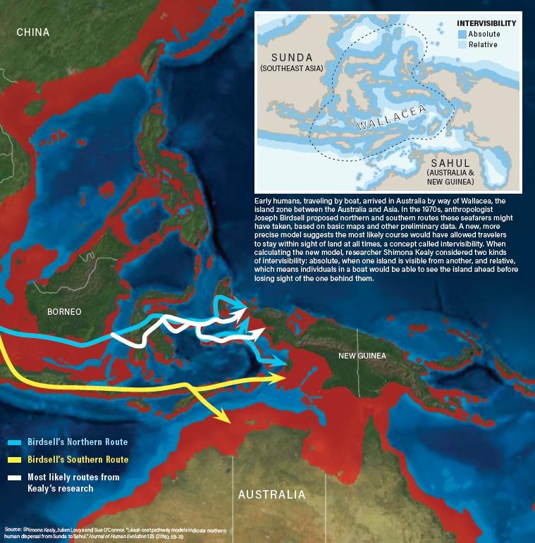 Australia Routes - Deep Time Maps/Mackey/Discover
