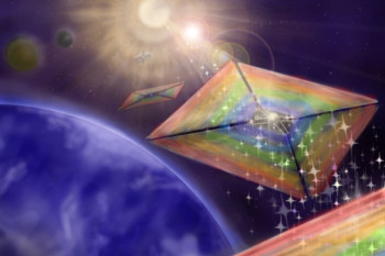 New Light Sail Design Could Help Keep Interstellar Spacecraft on Track