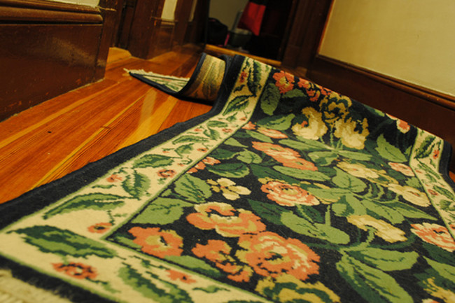 The physics of rug wrinkles. | Discover