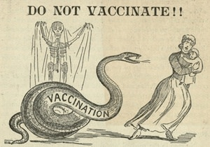 1892 Anti-Vax Poster - The Historical Medical Library of The College of Physicians of Philadelphia