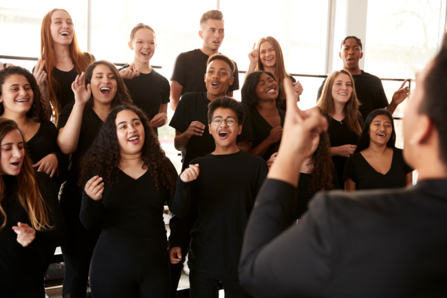 Choir Singing - Shutterstock