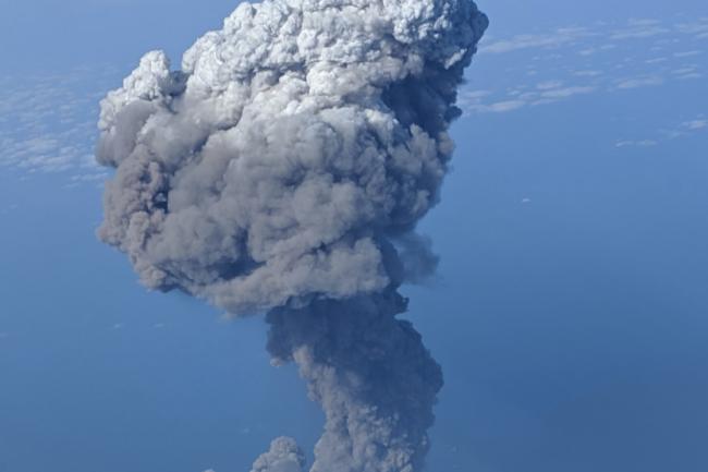 Stomboli eruption 2019 - Twitter