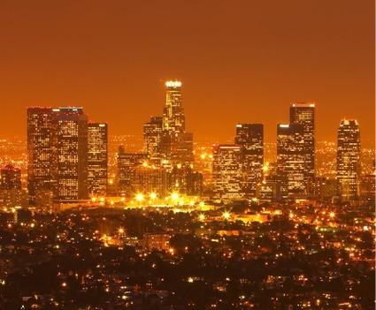LA light pollution