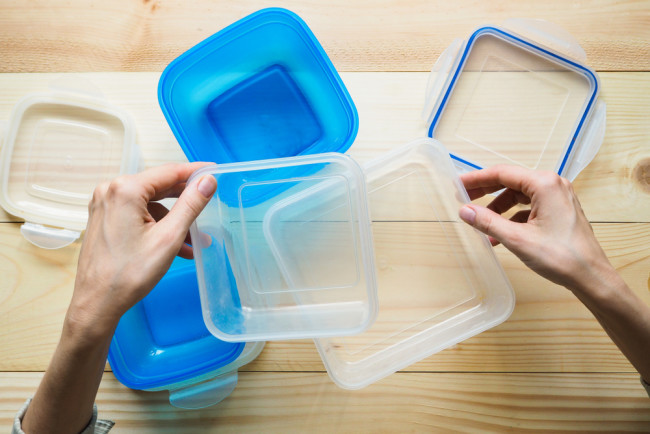 Plastic Food Container Tupperware Storage - Shutterstock