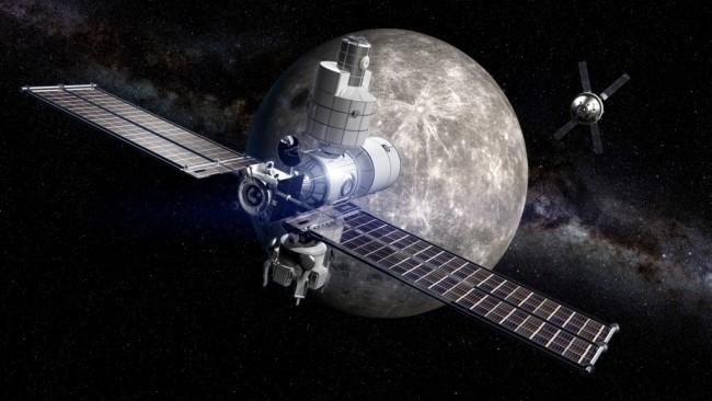 Deep Space Gateway moon space station - Boeing