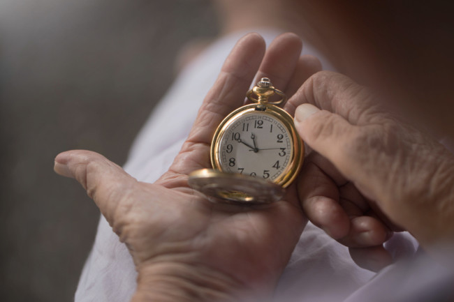 lifespan longevity age time clock - shutterstock