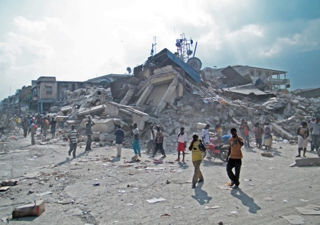 Haiti's 2010 earthquake hits Port-au-Prince