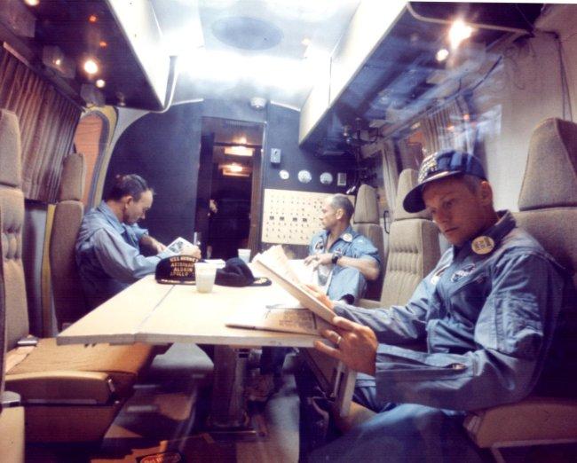 nasa Apollo 11 mobile quarantine