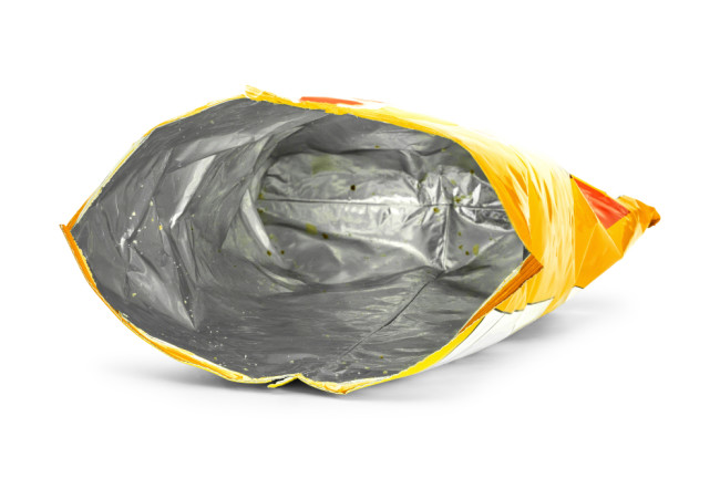 Empty Plastic Chip Bag - Shutterstock