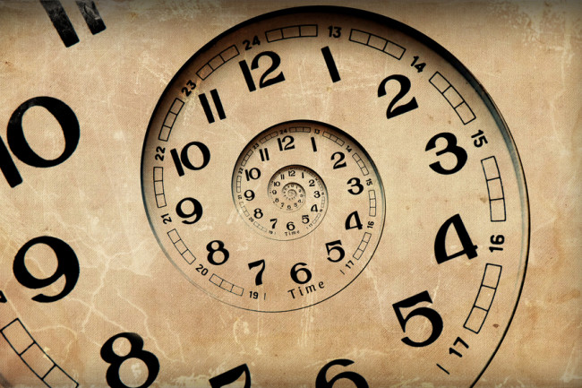 concept of time clock - shutterstock