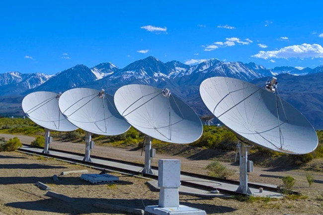 Deep Synoptic Array-10, Owens Valley Radio Observatory - Caltech
