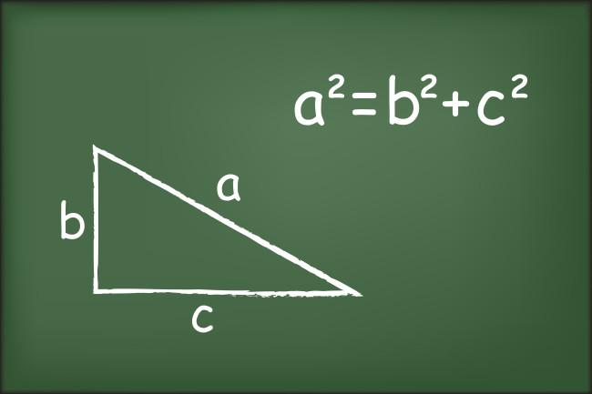 Теорема пифагора - shutterstock 307758278
